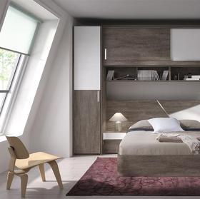Moderno Dormitorio Puente