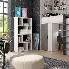 Dormitorio compactado