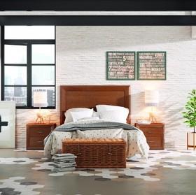Dormitorio Nogal Matrimonial